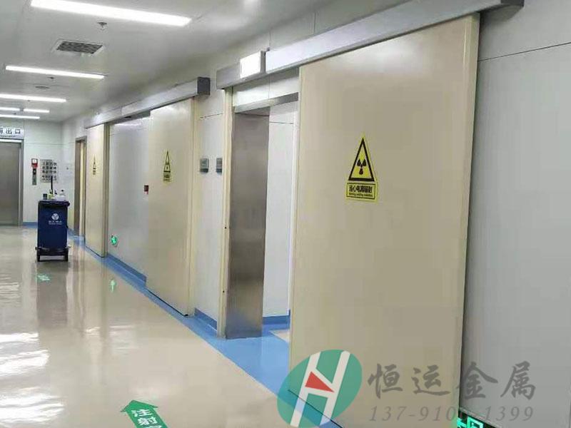 CT室射线防护铅门