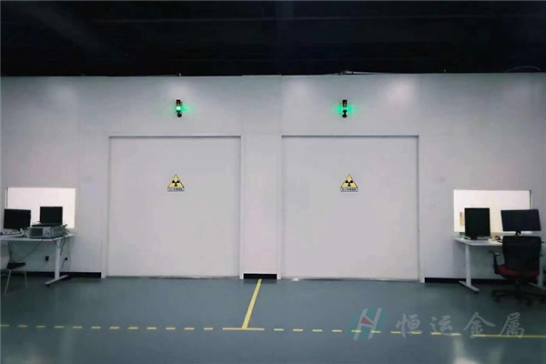 防辐射铅门1