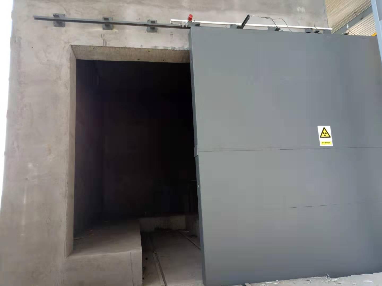 工业探伤门安装案例