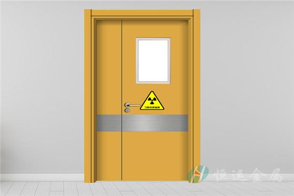 防辐射铅门