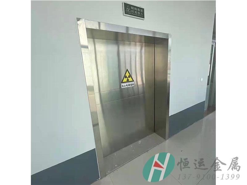 射线防护铅门安装案例