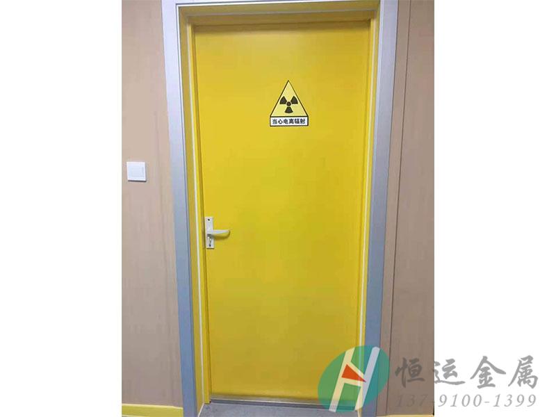 铅防护门安装案例-1