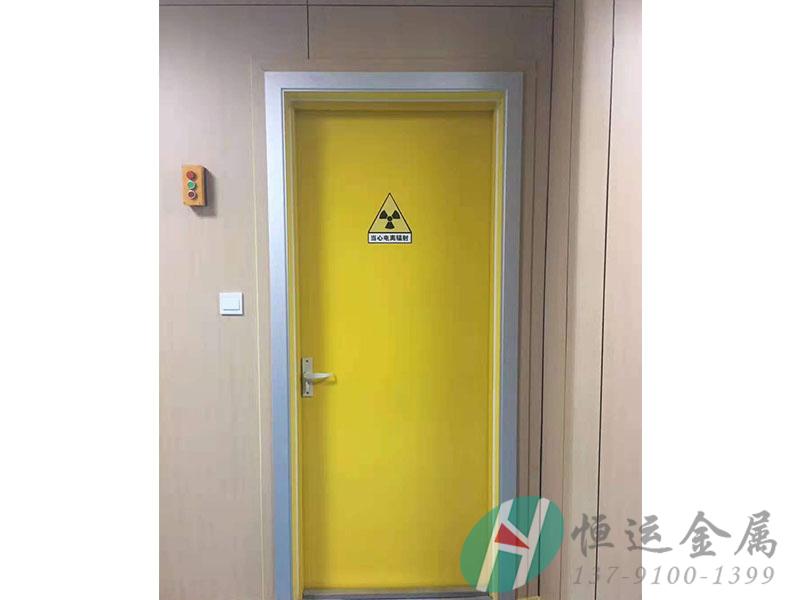 铅防护门安装案例-2